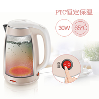 304 Stainless 220V Electric Kettle Water Heater Tea