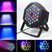 LED Par Lights 36W DJ LED RGBW Par Lights RGB Wash Disco Light DMX Controller Effect For Small Paty KTV Stage Lighting