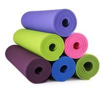 Single colorTPE 10 mm Non-Slip Yoga Mat Exercise Fitness Mat Light Weight Eco-friendly TPE Yoga Mat 183*61*1 cm Body Building