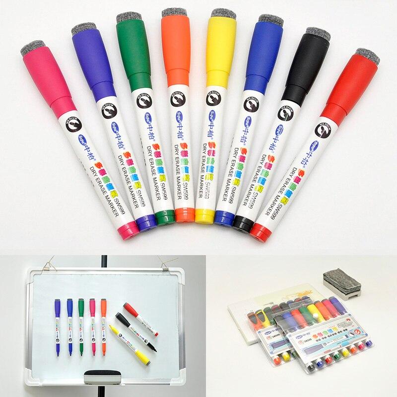 Dry Erase Wet Erase Markers Display Presentation Supplies 8