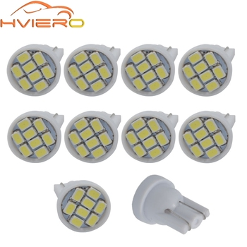 10X Car Led T10 W5W 168 147 152 License Plate Light Trunk Lamp Dome Lamp Interior Parking Light Auto Wedge Lighting Tail Light фото
