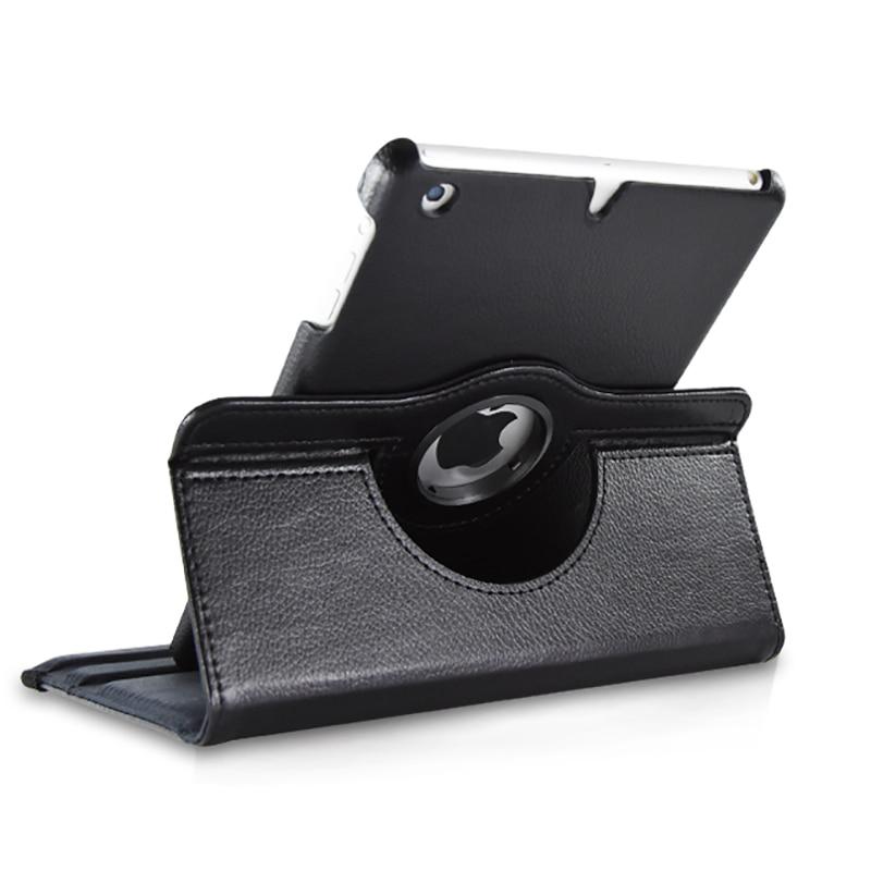 Gastvrij Nieuwe 360 Roterende Case Pu Leather Case Voor Ipad Mini 1 2 3 9.7 Inch Smart Cover Auto Slaap Ontwaken Zonder Terugkeer