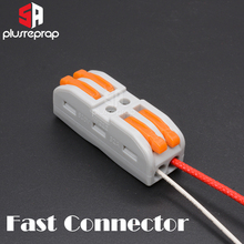 все цены на 3D Printer Parts Super Wire Connection Fast Connector for Ceramic Cartridge Heater Heating Tube Thermistor 100k ntc 3950 hotend онлайн