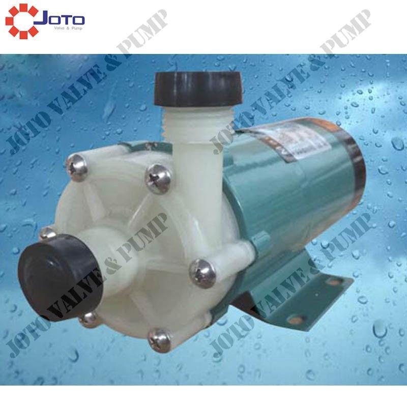 2pcs MP 30R/M Plastic Magnetic Drive Pump Acid Resistance Magnetic Centrifugal Pump Transport Waste Liquid