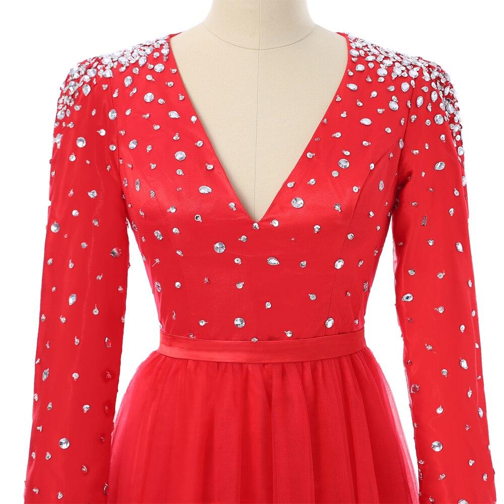 Longos Vestidos de Noite Vestidos No Tapete Vermelho