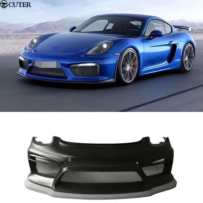 Gt4 Stile Frp Paraurti Anteriore Kit Car Body Porsche