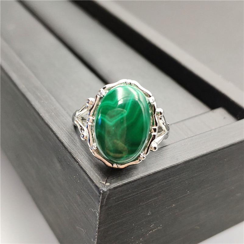 Natural Green Malachite Ring (2)