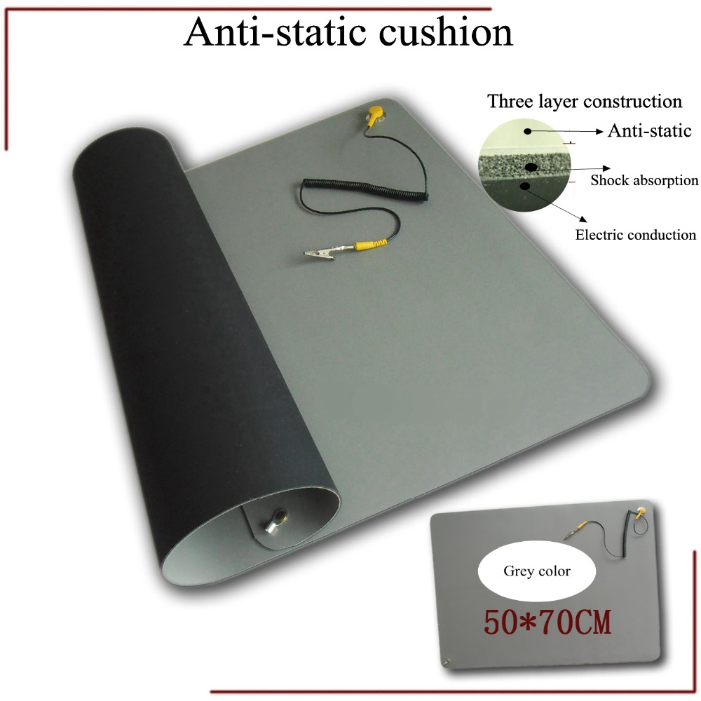 ∞Antistatic Mat With Ground Wire ESD Wrist For Mobile Phone And ...