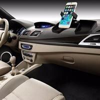Multi Purpose Car Inner Dashboard GPS Phone Holder Storage Stand Stretching Rotate ABS Storage Bracket Mount