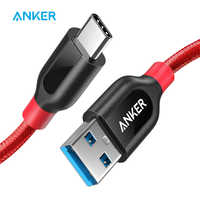 Anker Powerline+ USB C to USB 3.0 Cable ,USB Type C Cable ,High Durability for Samsung iPad MacBook Sony LG HTC Xiaomi 5 etc