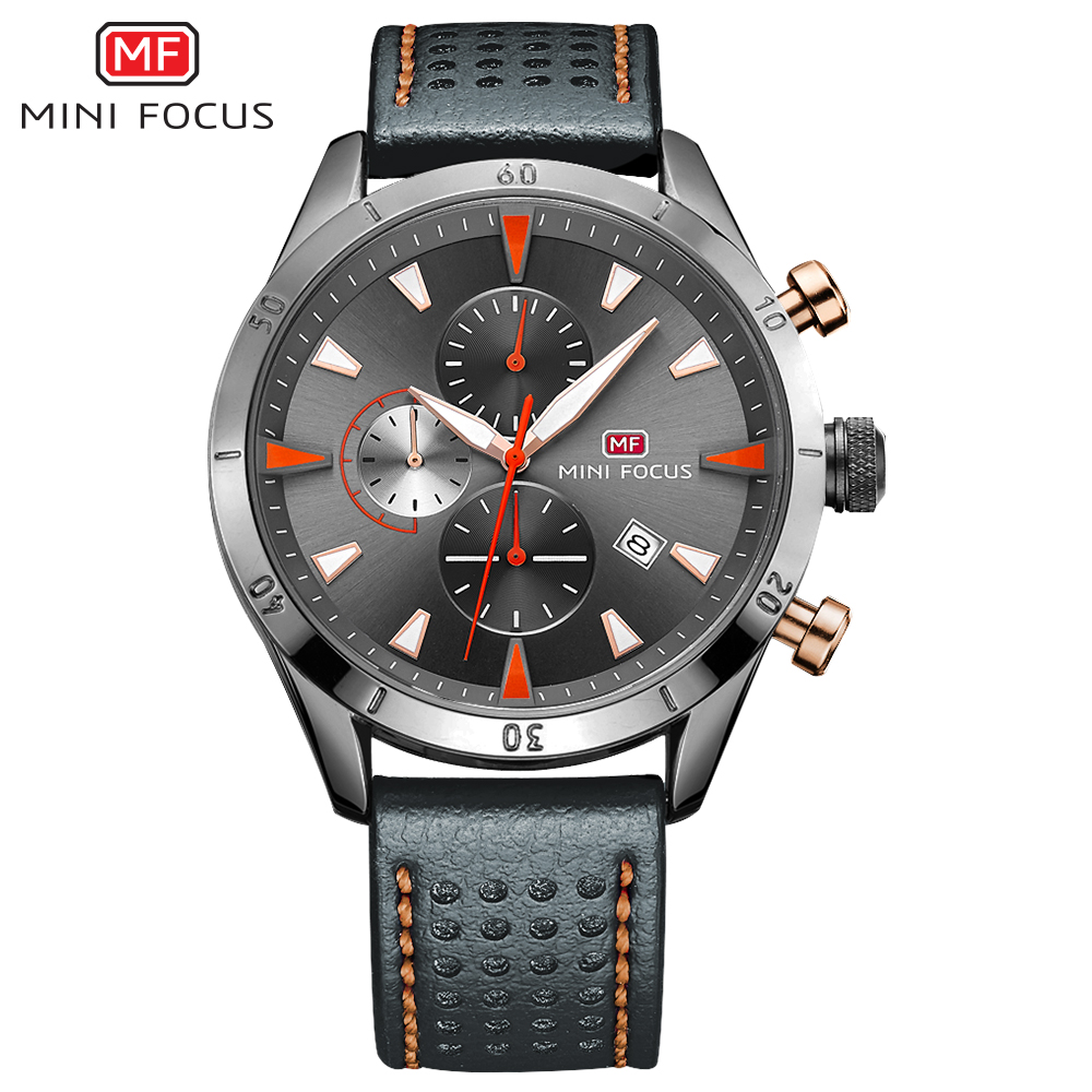 MINIFOCUS 2018 New Top Fashion Brand Mens Watches Luxury Casual Quartz Watch Stainless Steel Mesh Band Clock Relogio Masculino mce top brand mens watches automatic men watch luxury stainless steel wristwatches male clock montre with box 335