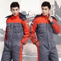 2020 Winter Thick Safety Clothing Labor Service Repair Factory Uniform Workwear Jumpsuit Fashion Uniform