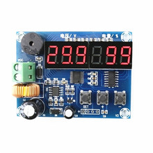 цена на DC-DC Adjustable Power Supply Module LM2596 voltage regulator module with voltage meter display