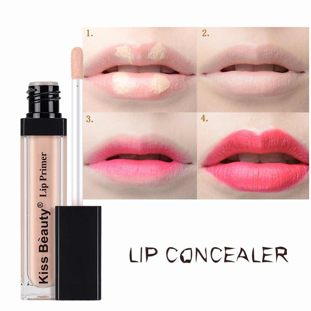 Foundation Creme Marken Lippen Concealer Flüssigkeit Dauerhafte Make-Up Basis Primer Professionele Machen-Up Kuss Schönheit Make-Up