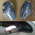 Accessories FIT FOR PEUGEOT 206 SW CC DOOR SIDE WING MIRROR CHROME COVER REAR VIEW CAP