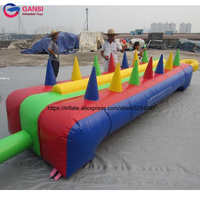 Kids Fun Fair Games Inflatable Air Ball Challenge Game Inflatable Floating Ball Game