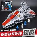 Новый Лепин 05042 Star Wars Republic attack cruiser Набор Строительные Блоки Кирпичи Развивающие Игрушки Борьба 1200 шт. подарок мальчик