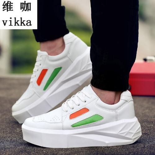 d9153a78 Plataforma Tacones altos Cesta Barato Tenis Casuales Hombres Zapatos Blancos  de Sexo Masculino Krasovki Diseñador de Zapatos de Alta Calidad de San  Valentín ...
