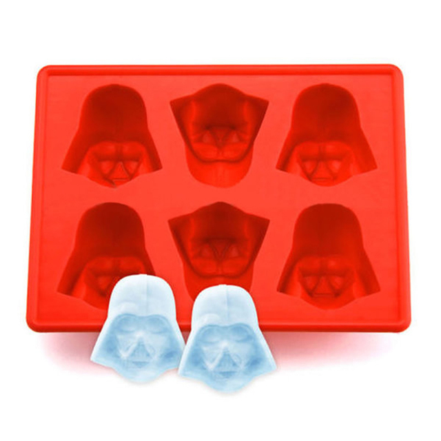 Darth Vader Silicone Ice Cube Tray For Cocktails