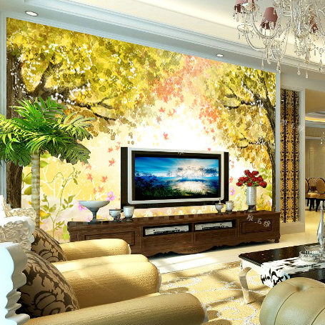 scenery forest Wallpaper mural desktop 3D wallpaper for wall 3d wallpaper Background moisture-proof for living room bedroom