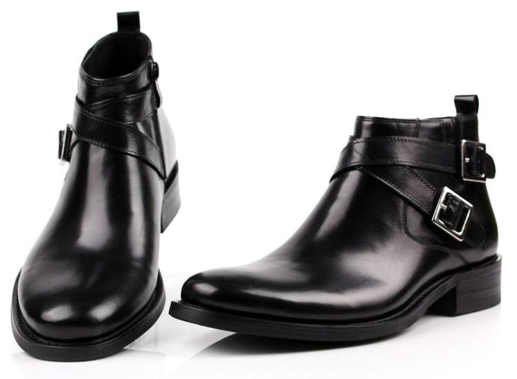 Aliexpress.com : Buy Large size EUR46 black double buckle mens ...
