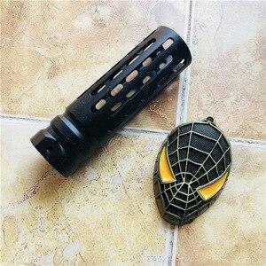Image 5 - 조정 가능한 소음기 머플러 M4 일반 refitting 액세서리 전면 튜브 장난감 총 무료 조립 피팅 야외 사냥에 대 한