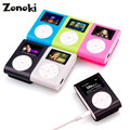 5 Colores Mini Pantalla LCD Reproductor de Música MP3 del Clip del USB Construir-en li-ion batería de la ayuda 32 gb sd micro tf tarjeta de 3.5mm jack estéreo Oct25