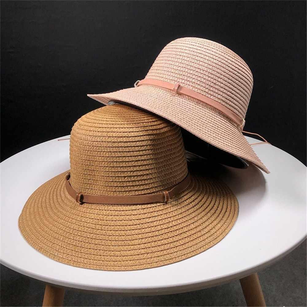 93e08e4b1 Detail Feedback Questions about Womens Floppy Summer Sun Beach Straw ...