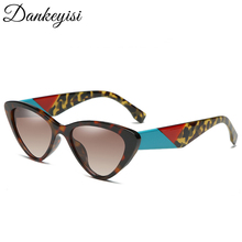 DANKEYISI Fashion Women Cat Eye Sunlasses Women Uv400 Sunglasse Female Retro Eye