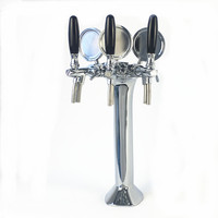 Beer bar counter top Tap draft beer Column tower, bar accessory