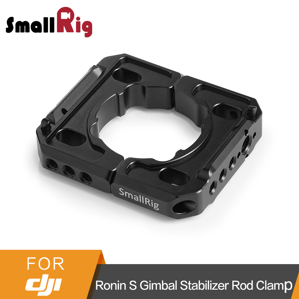 все цены на SmallRig Rod Clamp for DJI Ronin S Gimbal Stabilizer Quick Release Rod Clamp Kit With 1/4 and 3/8 Threaded Holes - 2221 онлайн