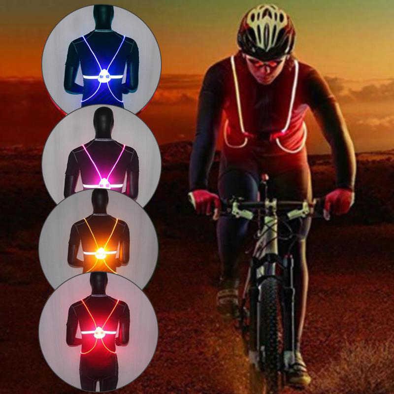 360 Reflective LED Flash Driving High Visibility Night Cycling  Running Riding O