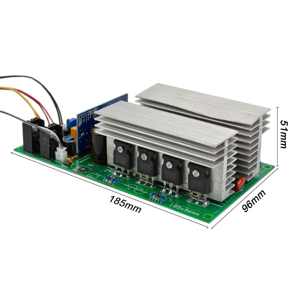 SUNYIMA Pure Sine Wave High Power Frequency Inverter Transformer DC 12V 24V 36V 48V 60V 1000/2000/2800/3600/4000W Finished Board
