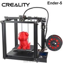CREALITY 3d принтер Creality Ender-5 с Landy стабильной мощностью, V1.1.3 материнская плата, магнитная Встроенная пластина, отключение питания