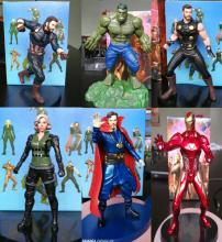 Movie super heroes marvel action figures avenger Thor Hulk black widow captain america ironman Doctor Strange 15cm model toys alen black widow 27cm 1pcs pvc figures play arts kai the avenger marvel action anime figures kids gifts toys