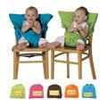 Bebê infantil Cadeira de Assento de Segurança Do Carro Tampa Clipe para Cinto, portátil Folding Marca Arnês Para O Jantar Almoço Alimentação, Booster Assento de bicicleta
