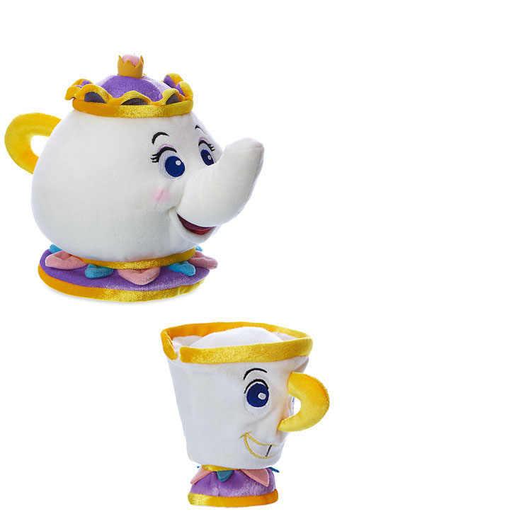Игрушки Диснея Cartton аниме Beauty And The Beast, чайник, мягкие игрушки, плюшевые куклы, детский подарок
