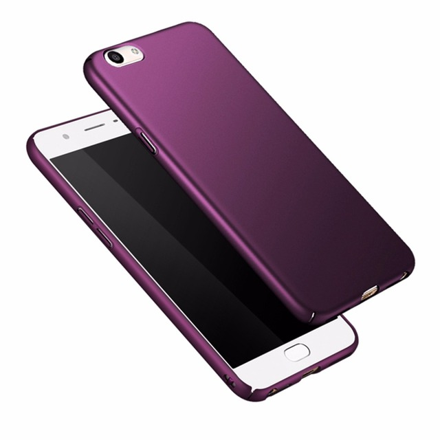 various colors a8ee4 0c0d7 US $0.79 24% OFF|for oppo f1s Case Luxury 360 full Protective Phone Back  Case For oppo a59 f1s a59m a1601 Cover Hard PC Shockproof Skin Coque 5.5-in  ...