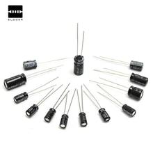 Hot Sale 130Pcs 0.1uf-470uf Electrolytic Capacitor Assortment Kit Set 13 Values Each 10 High Quality