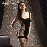 R6264 1 PC Évider Nouveau Full Body Stocking Lingerie Sexy