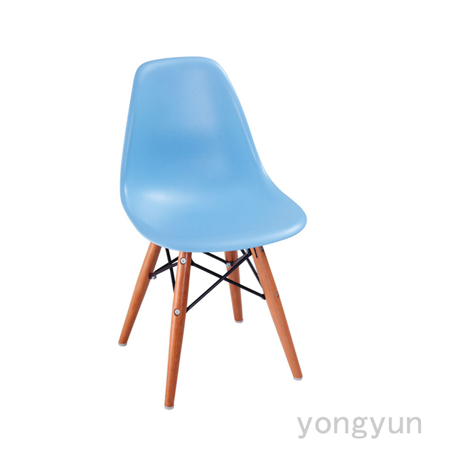 Bon Children Wooden Base Baby Charles Kids Minimalist Modern Childrens Chair  Wood Legs Dining Chair Modern Chair