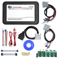 2Pcs/Lot DHL Free VD300 V54 FGTech Galletto 4 Master Fg tech BDM-TriCore-OBD Function With Multi-languages