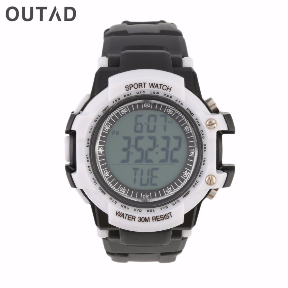 OUTAD Transmitter Waterproof Heart Rate+Fitness Belt Mens Sports Watch Winder English 1PC Digital Wireless Chest Strap Monitor ultra luxury 2 3 5 modes german motor watch winder white color wooden black pu leater inside automatic watch winder