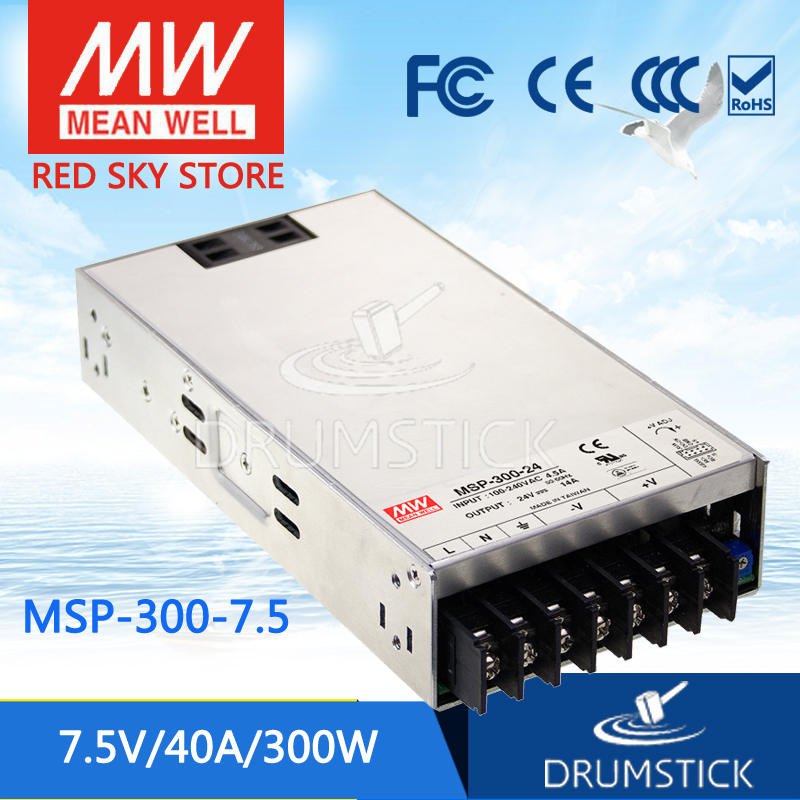 100% Original MEAN WELL MSP-300-7.5 7.5V 40A meanwell MSP-300 7.5V 300W Single Output Medical Type Power Supply 100% original mean well msp 100 36 36v 2 9a meanwell msp 100 36v 104 4w single output medical type power supply