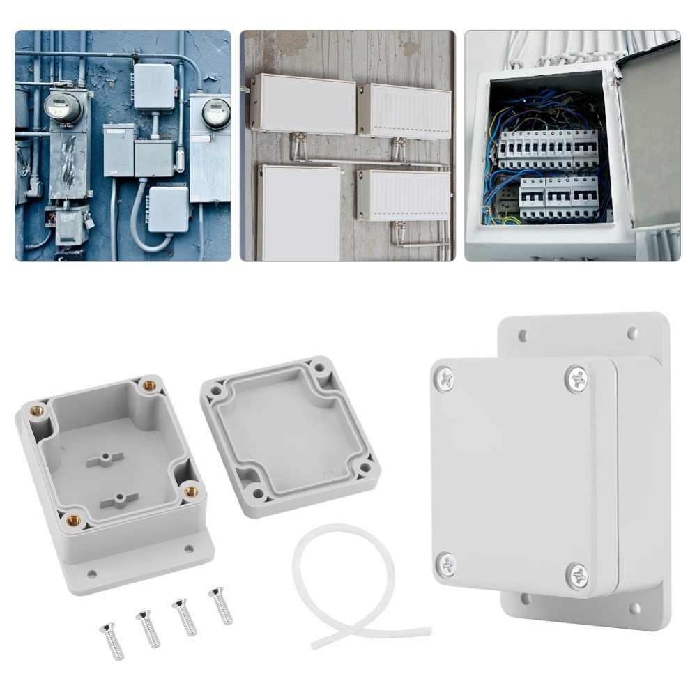 Waterdichte Plastic Behuizing Doos Elektronische Project Instrument Case Elektrische Project Doos Outdoor Junction Box Behuizing