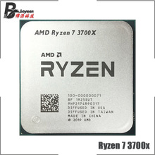AMD procesador de CPU AMD Ryzen 7 3700X R7 3700X 3,6 GHz, ocho núcleos, 16 hilos, 65W, 7NM, L3 = 32M, 100 000000071, Socket AM4
