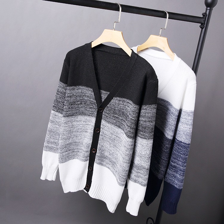High Quality Mens Sweater New 2015 Autumn Winter Patchwork Cashmere Wool Cardigan Men Sweater Brand Casual V-Neck Mens Clothing (5)