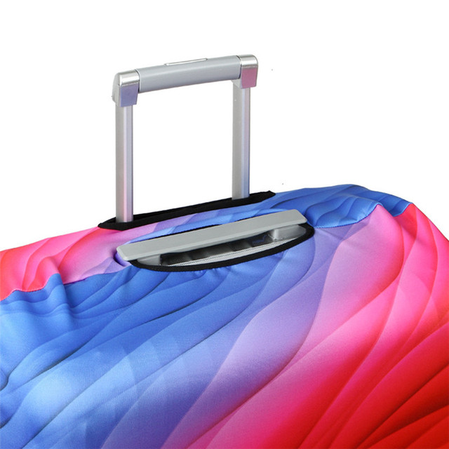 Thicker Travel Suitcase Protective Cover Luggage Case Travel Accessories Elastic Luggage Dust Cover Apply to 18''-32'' Suitcase 4