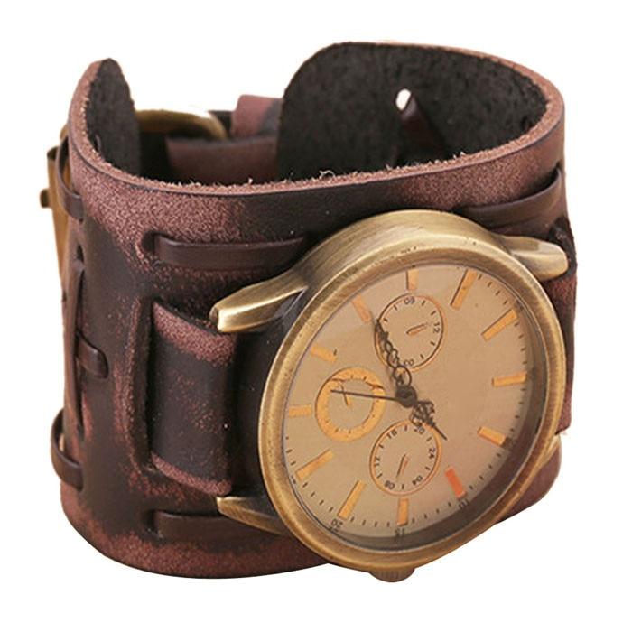 Retro Leather Watch