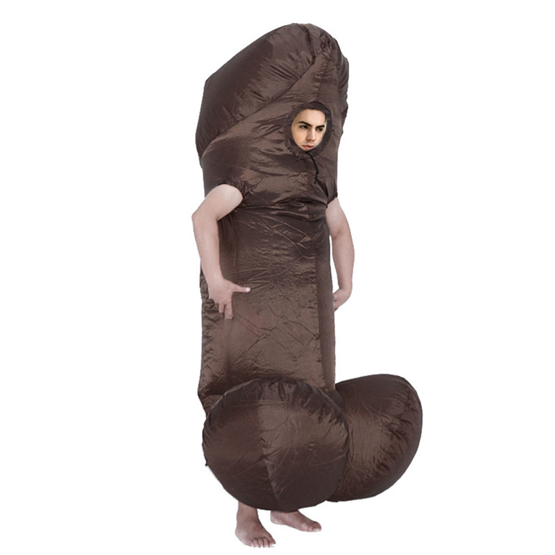 Outdoor Fun & Sports Inflatable Bouncers 2018 Creative Inflatable Willy Adult Halloween Costumes Fancy Dress Outfit For Men Women Party Dick Jumpsuit Funny Cosplay Dress